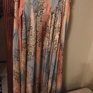 Gorgeous print maxi skirt